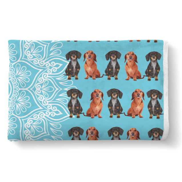 TD Dachshund Is My Spirit Animal Blanket