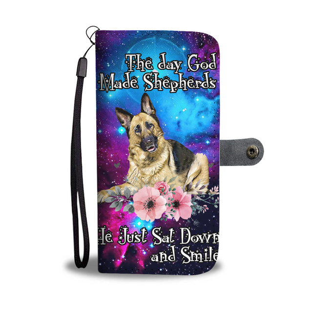 nh german shepherd smile wallet case