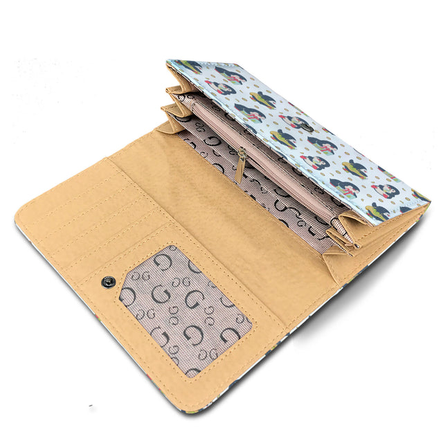 nh penguins lovely womens wallet