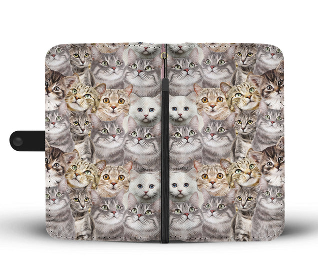 nh 6 cats lover wallet case