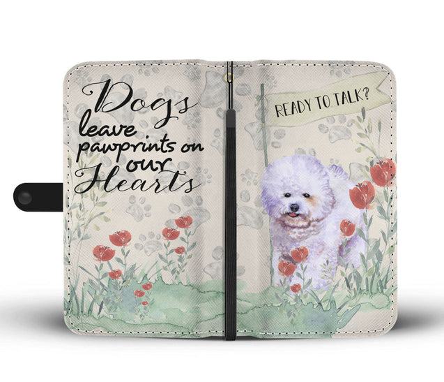 ln bichon frise ready wallet case