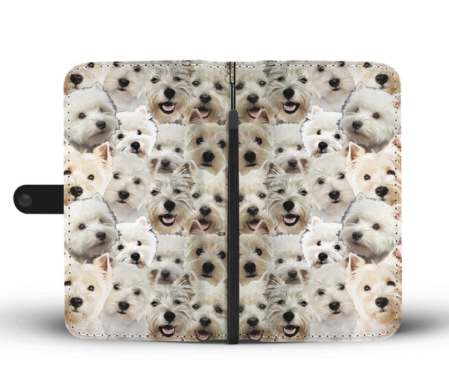 nh 6 west highland white terrier wallet case