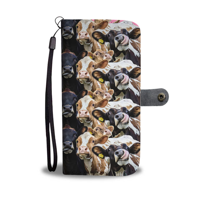 nh 6 cow wallet case