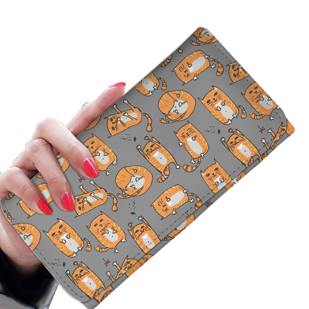 Nh cats so cute womens wallet