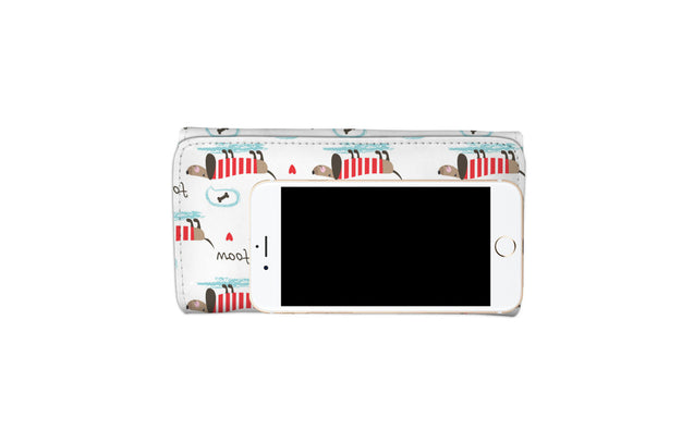 Nh dachshunds so cute womens wallet