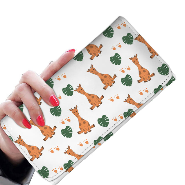 Nh giraffes so cute womens wallet