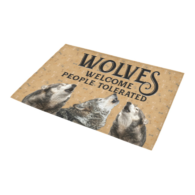 Nh 1 Wolves Welcome doormats
