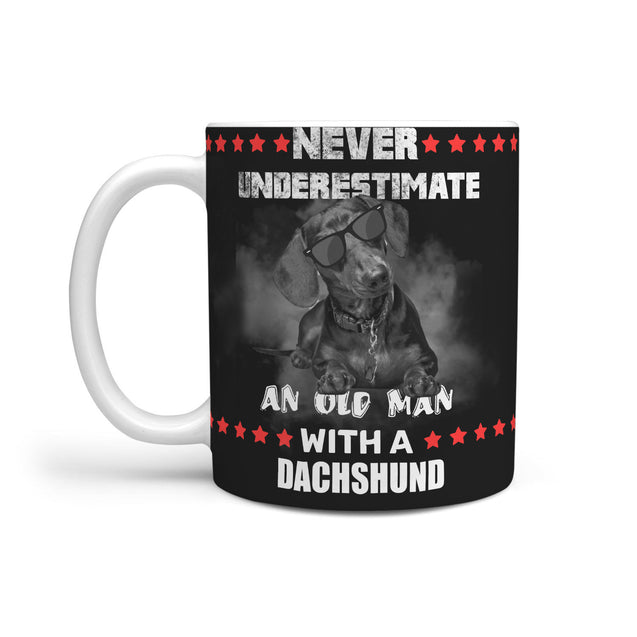 nh 6 dachshund never underestimate