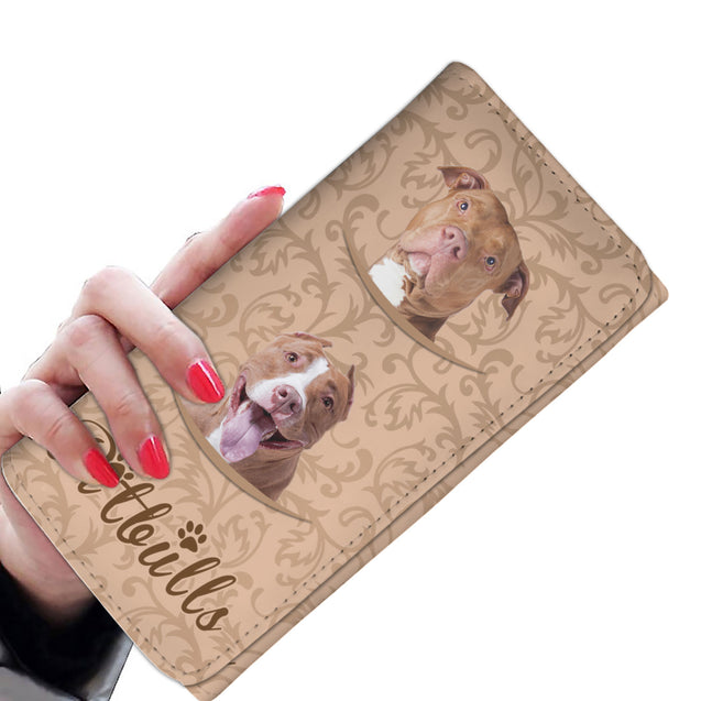 TD Pitbull Pattern Womens Wallet