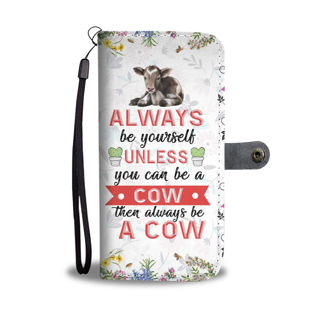 ln 1 cow be yourself wallet case