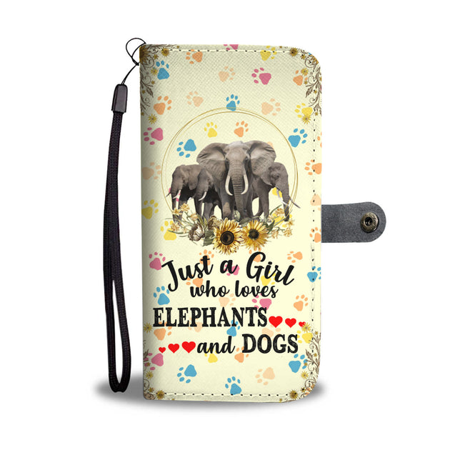 nh elephant paw wallet case