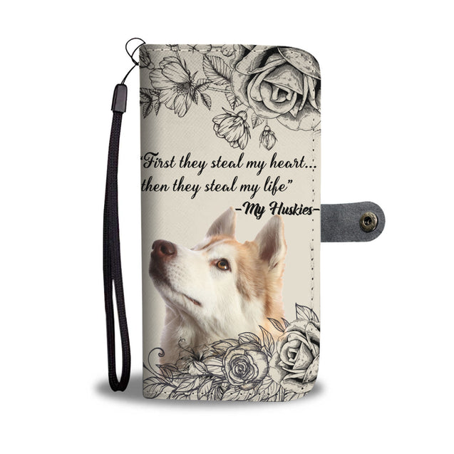 TD Huskies Steal My Life Wallet Case