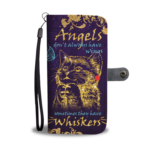nh 2 cat angel wallet case