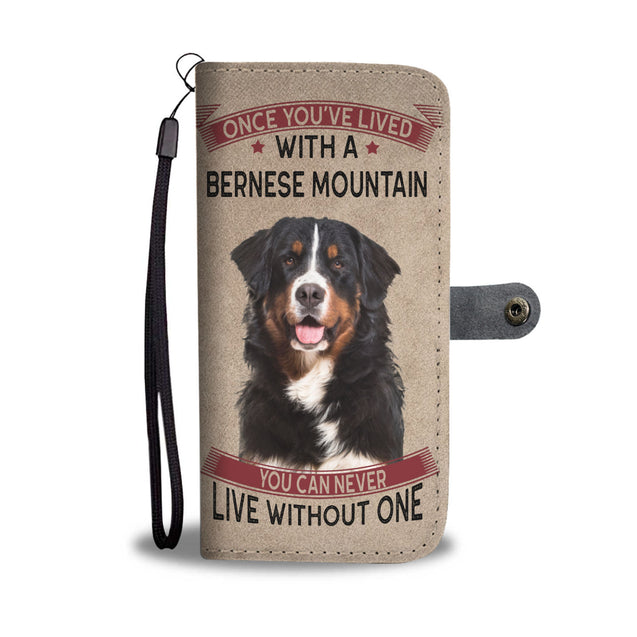 vt-9-Bernese Mountain phone wallet