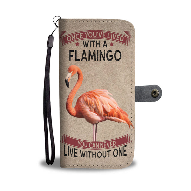 vt-9-Flamingo Phone Wallet