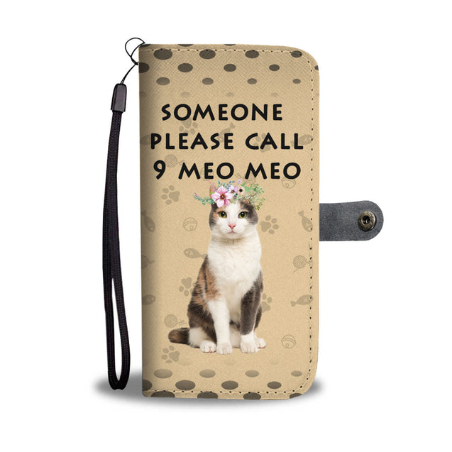 lg 9 cat please call wallet case