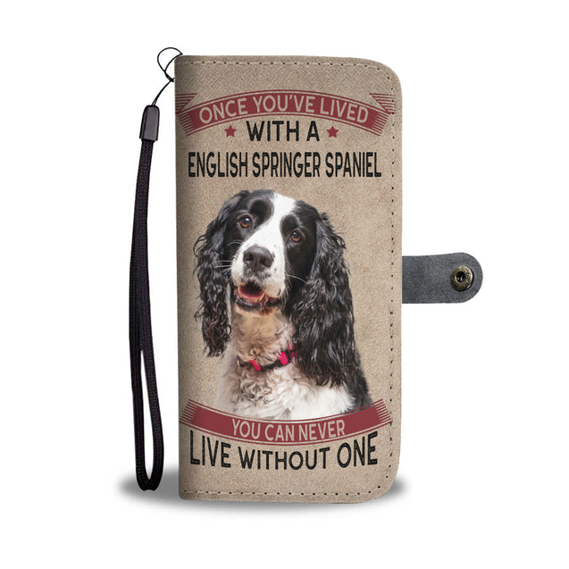 vt-9-English Springer Spaniel phone wallet