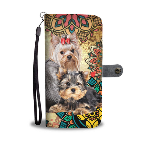 nh 2 yorkshire terrier beauty wallet case