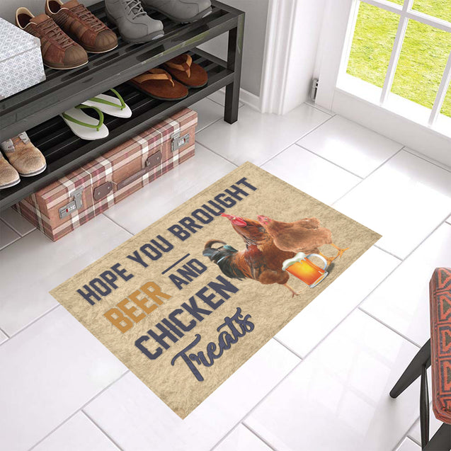 Nh 1 Chicken beer doormat