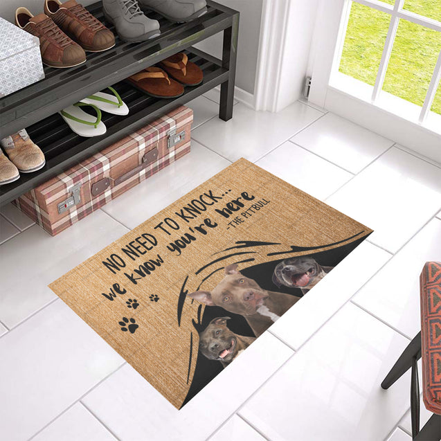 ll 1 pitbull we know doormat