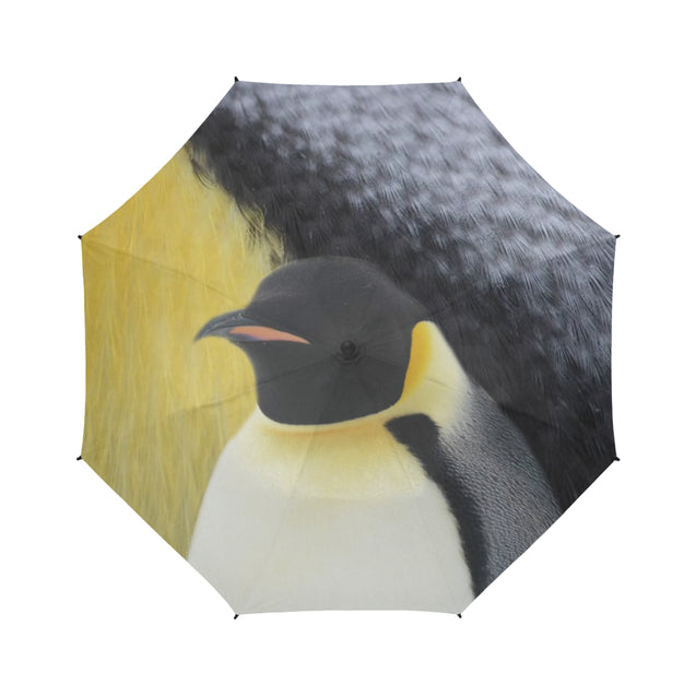 TD 30 Penguin Fur Texture Umbrella