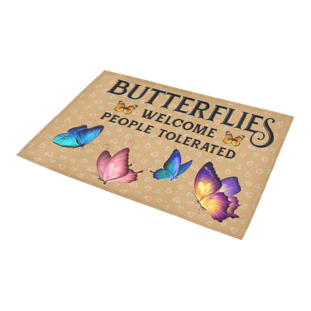 Nh 1 Butterfly welcome doormats