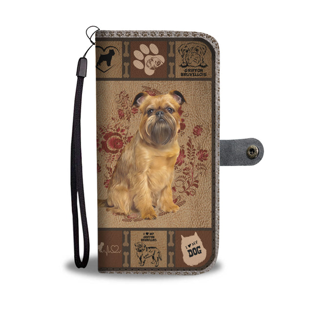 TH 5 Griffon Bruxellois Will Be There Phone Wallet Case (Ver 2)