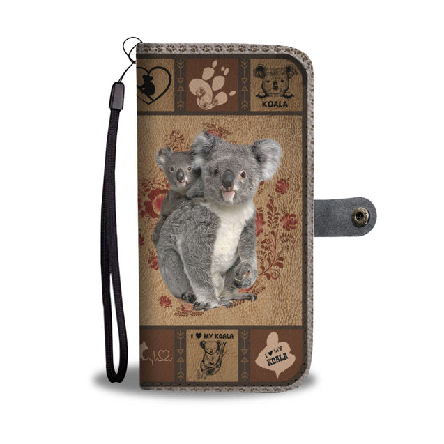 TH 5 Koala Will Be There Phone Wallet Case (Ver 2)