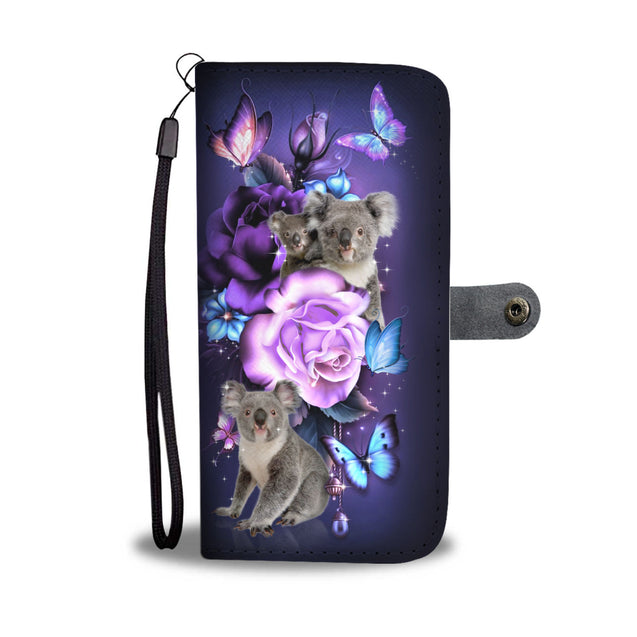 ln 2 koala magical phone wallet case
