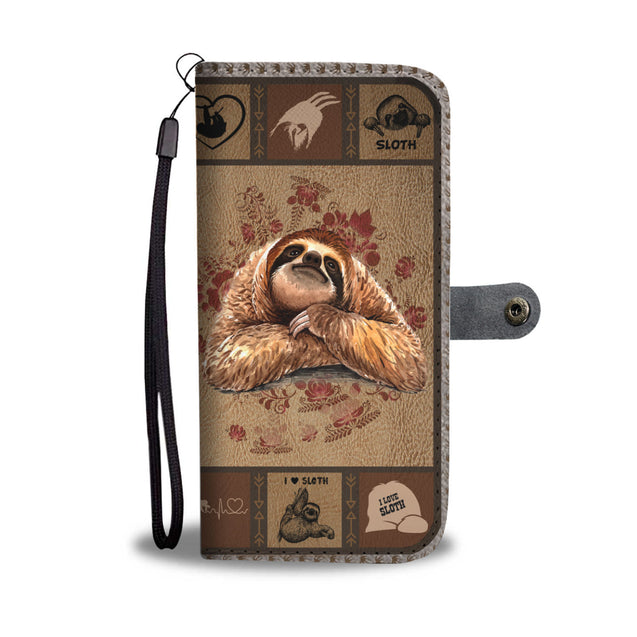 TH 5 Sloth Will Be There Phone Wallet Case (Ver 2)