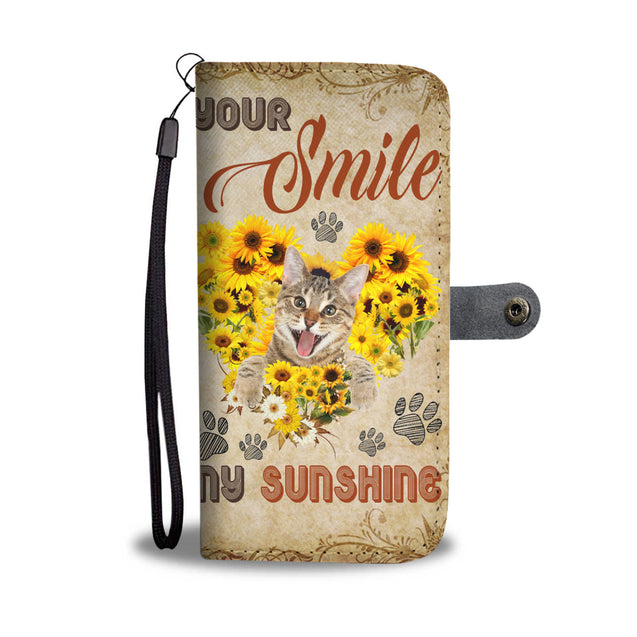 Mt Your Smile My Sunshine Cat Wallet Case Phone Case