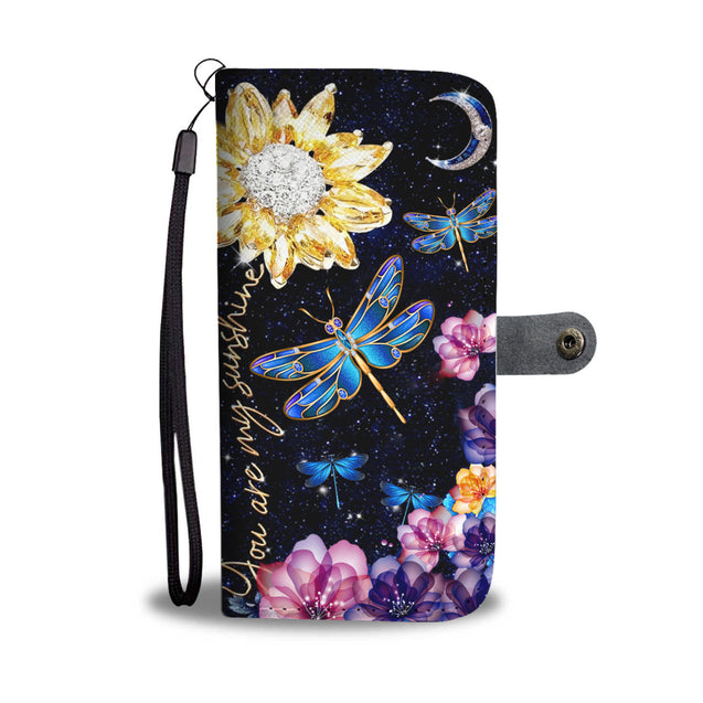 dt-8 Dragonfly diamond phone case