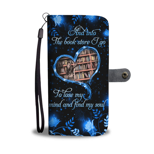 SHN 10 Lose my mind and find my soul Book Wallet case