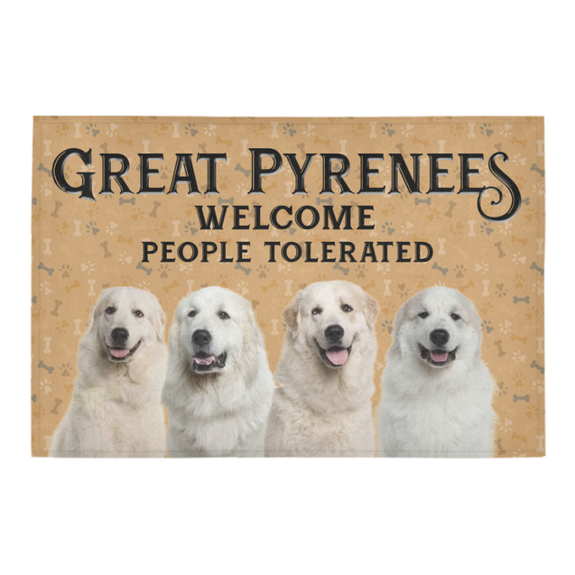 Nh 1 Great Pyrenees Welcome doormats