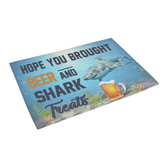 Nh 1 Shark beer doormat