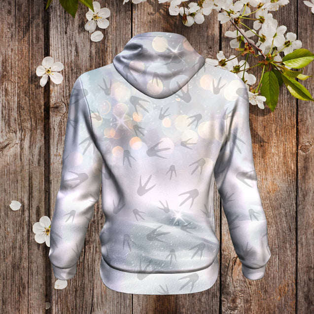 Nh 5 3D Hoodie Penguin love at first