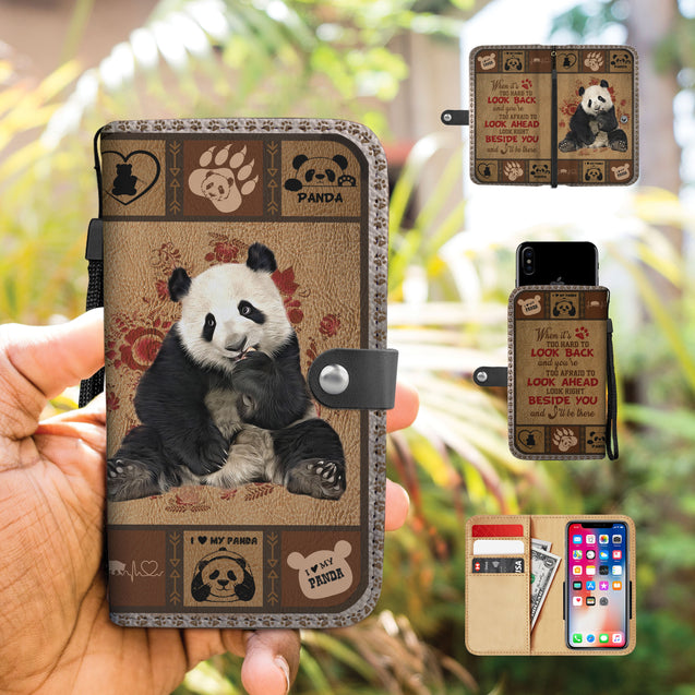 TH 5 Panda Will Be There Phone Wallet Case (Ver 2)