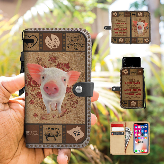 TH 5 Pig Will Be There Phone Wallet Case (Ver 2)