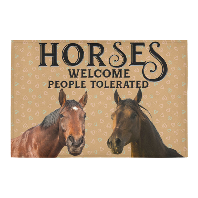 Nh 1 Horse Welcome doormats