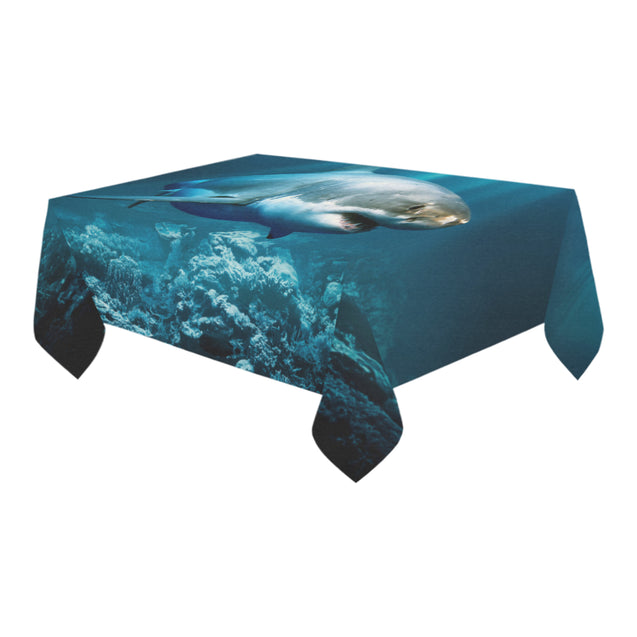 ln 1 shark undersea tablecloths