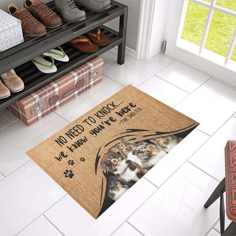 ll 1 sheltie we know doormat