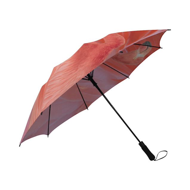 TD 6 Flamingo Fur Texture Umbrella