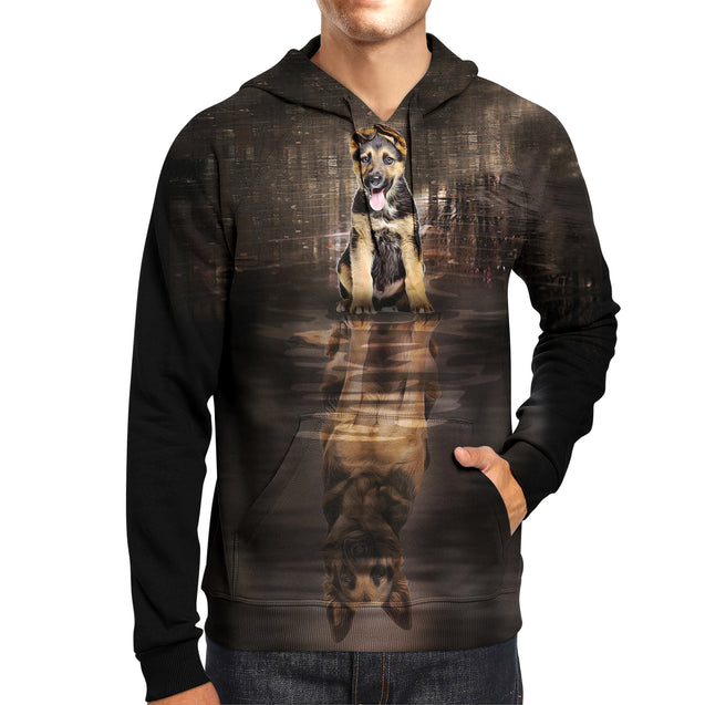 Nh 6 German Shepherd Shadow Hoodie
