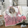 nh 6 shih tzu beside you blanket
