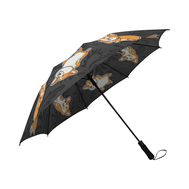 vt-6-corgi Umbrella