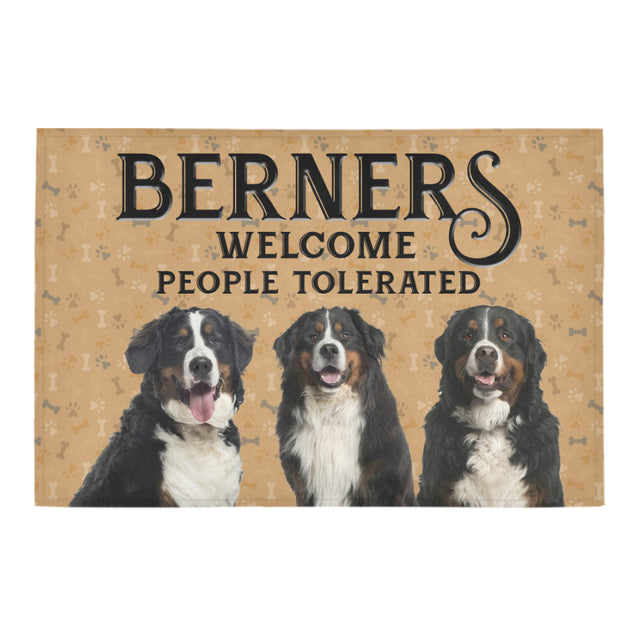 Nh 1 Berners Welcome doormats