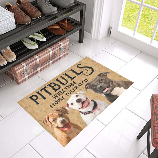 Nh 1 Pitbull Welcome doormats