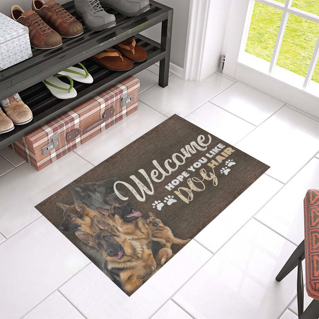 TD 5 German Shepherd's Hair Doormat