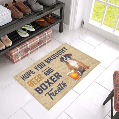 Nh 1 Boxer Beer Doormat