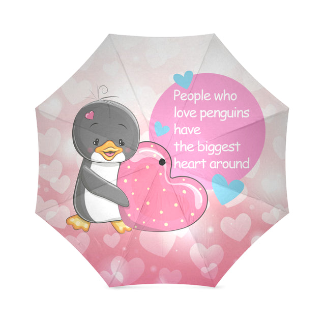 ln penguin the biggest heart umbrella